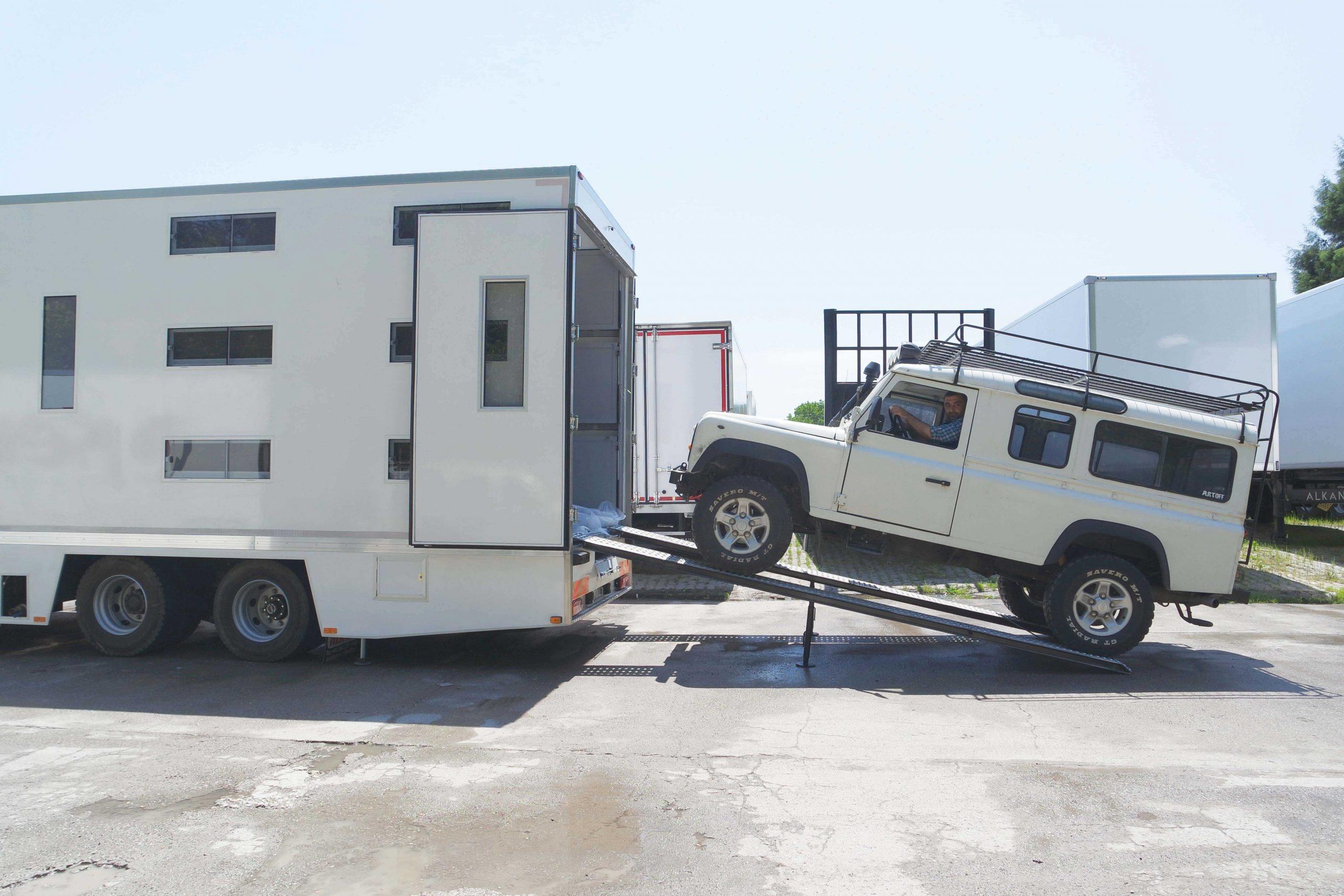 mobil saha araci 3